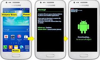 Tutorial Cara Root Dan Install CWM Recovery Samsung Galaxy Ace 3 GT-S7270