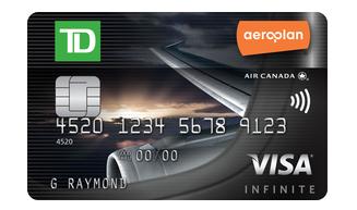 Td Visa Infinite >> Rewards Canada New Td Aeroplan Visa Infinite Offer Up To 25 000