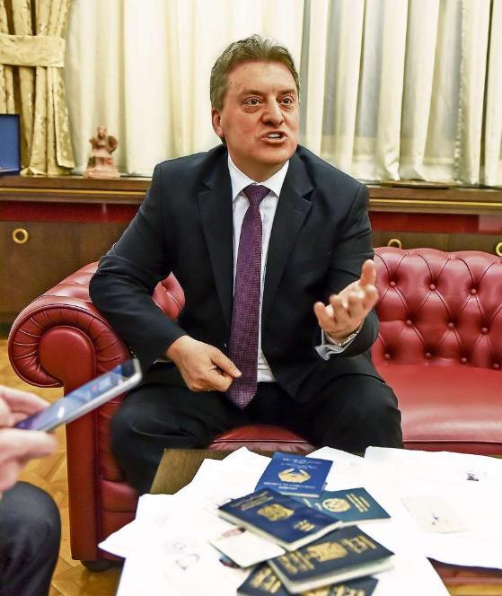 Mazedoniens Präsident rechnet mit der EU ab