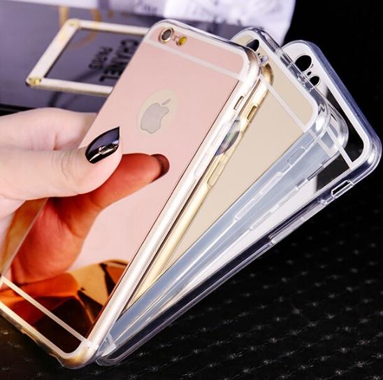 Luxury Plating Mirror Case