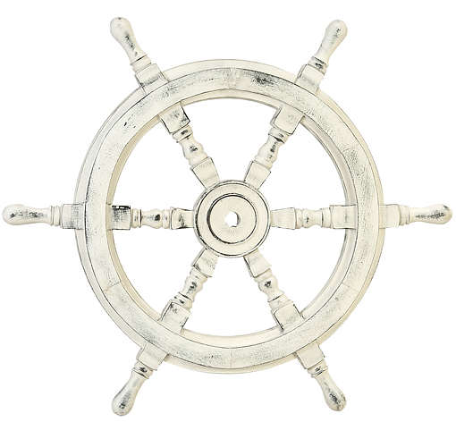 Nautical Wheel Decor: Ship Wheel Decor -A Stylish Spin On The Old Captains Wheel
