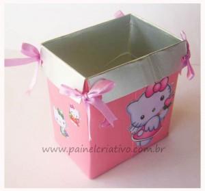 Подарочная коробка для девочки из тетрапака