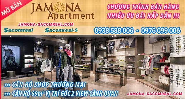 Sacomreal mở bán căn shophouse thương mại và căn góc 69m2 Jamona Apartment, Jamona City