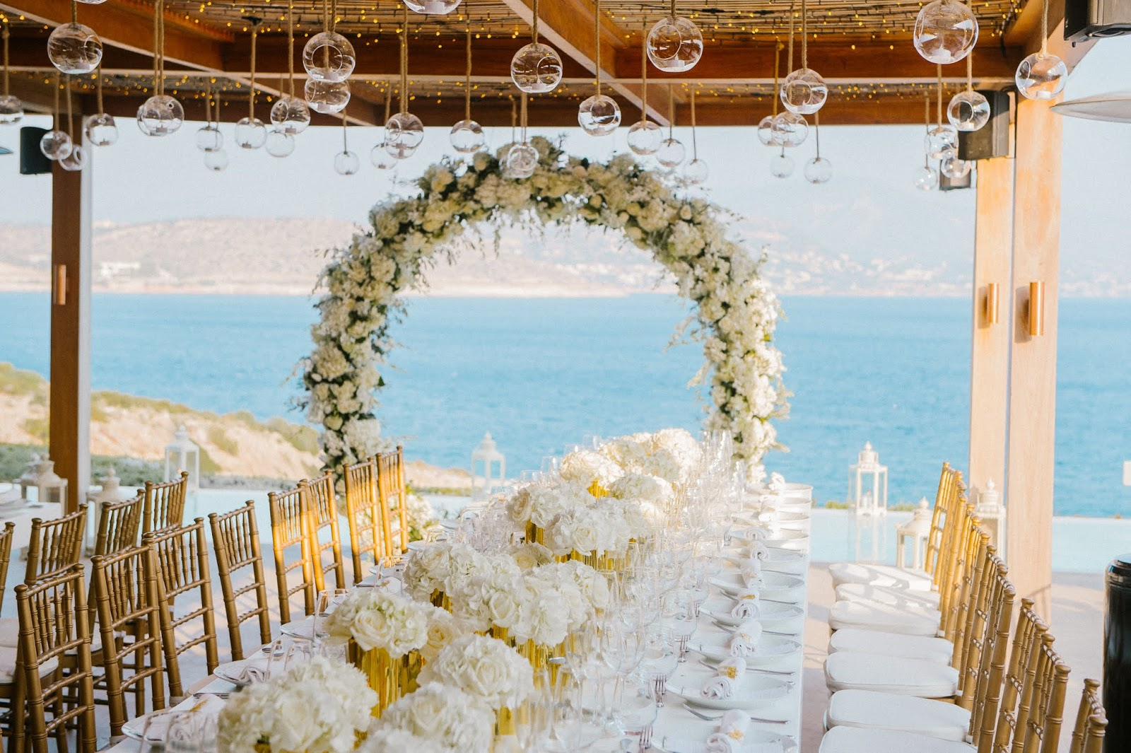 GREEK WEDDING FLOWERS : ISLAND PRIVATE WEDDINGS BY ROSETTA