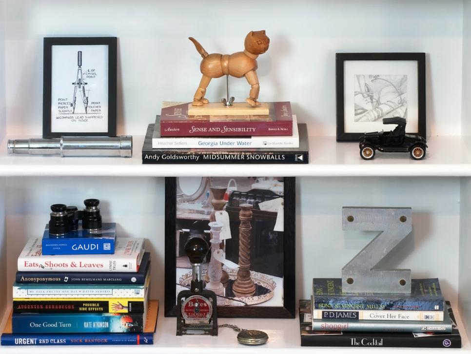 You Also Want To Look At Your Bookcase As A Small Vignette Meaning Each Shelf Needs Be Individual And Create Foundations Build On