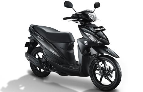 New Suzuki Address FI Black Predator