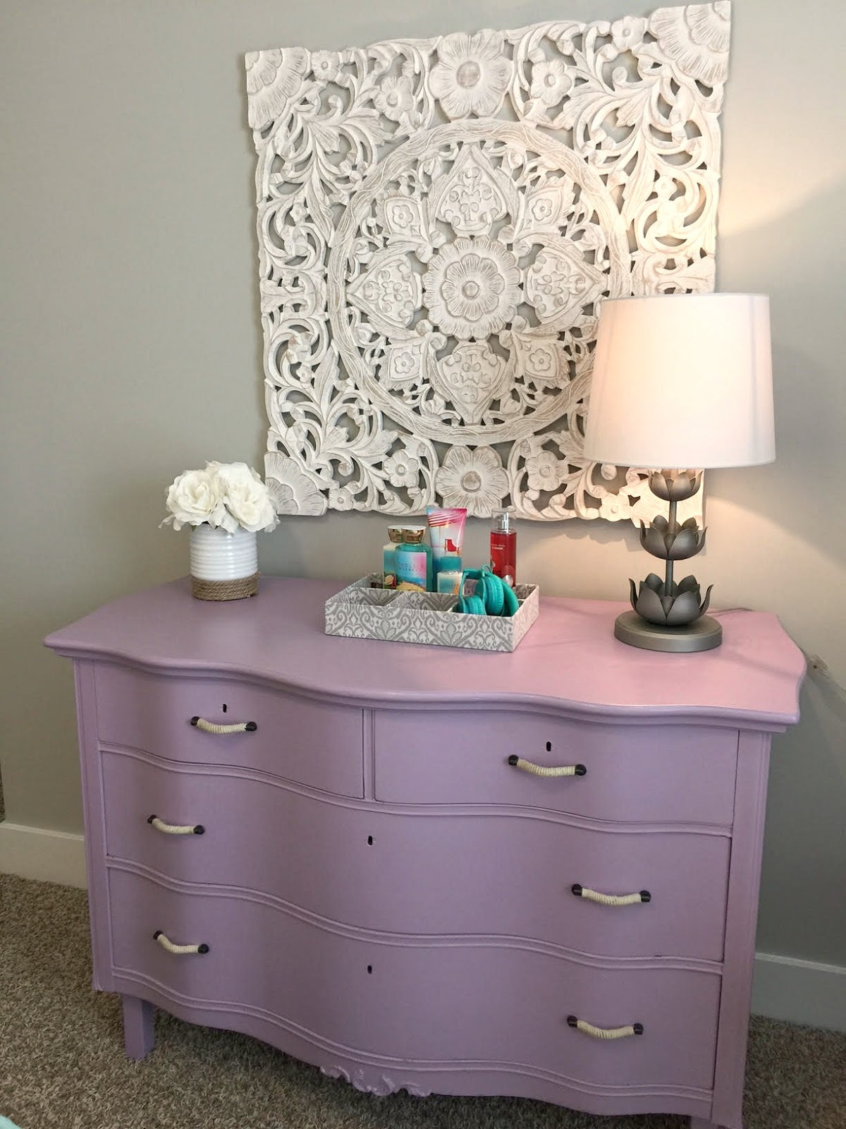 Seaside Interiors: Teen Gray, Turquoise, and Lavender ...