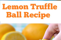 Lemon Truffle Ball Recipe #lemon #truffles #lemontruffles #desserts #nobake