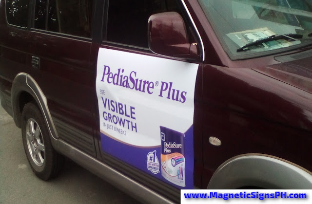 Customized Magnetic Sign - Pediasure Plus