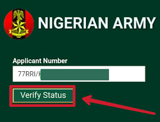 nigeria army shortlist 2018