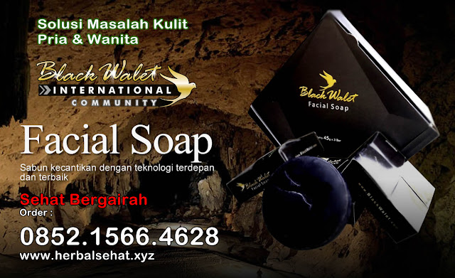 Black Walet Indonesia, Sabun Herbal atasi Masalah Kulit Wajah