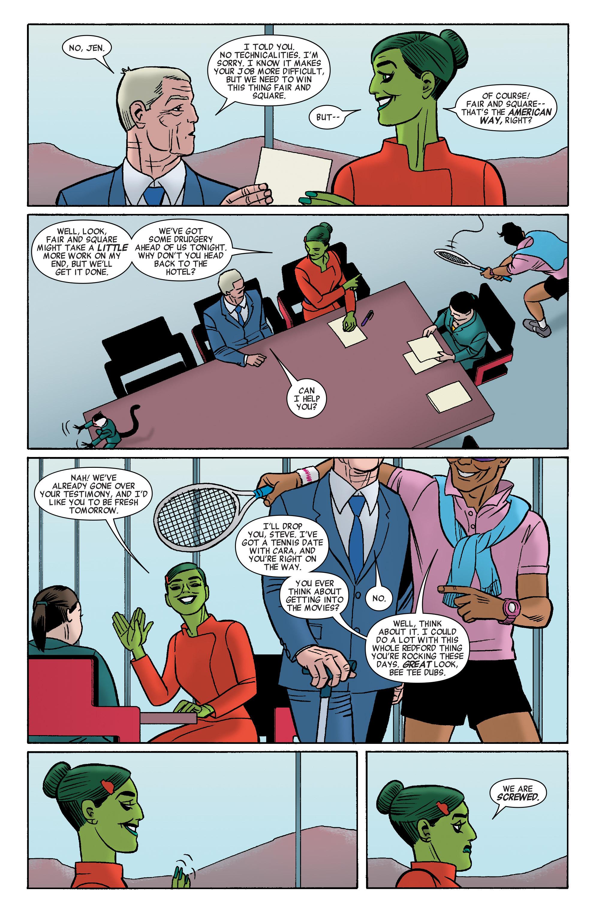 Read online She-Hulk (2014) comic -  Issue #9 - 12