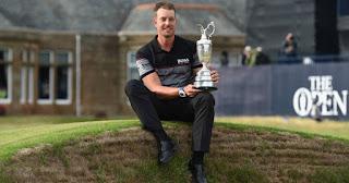 GOLF - Hernik Stenson da a Suecia su primer grande, el British Open
