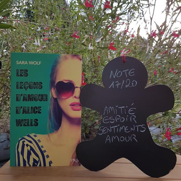 Les leçons d'amour d'Alice Wells de Sara Wolf