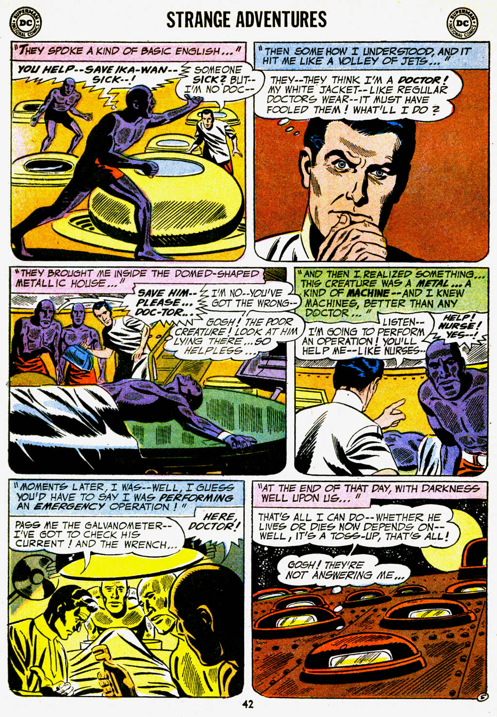Strange Adventures (1950) issue 227 - Page 43