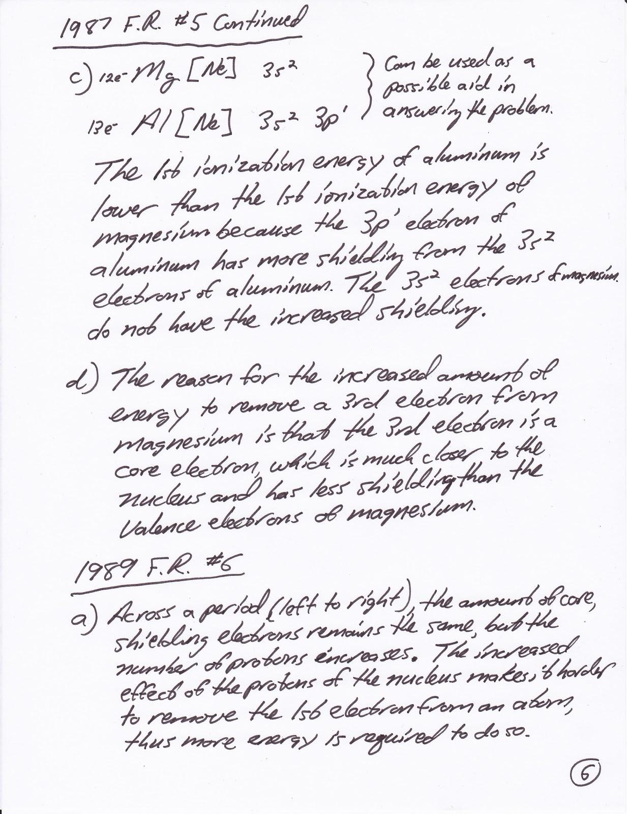 Mr Brueckner S Ap Chemistry Blog 17 October