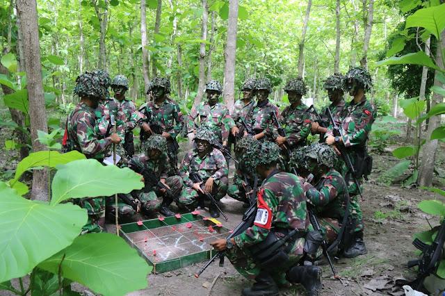 Tingkatkan Kemampuan, Yonif Raider 509 Kostrad Gelar Latihan Pemantapan Raider di Banyuwangi