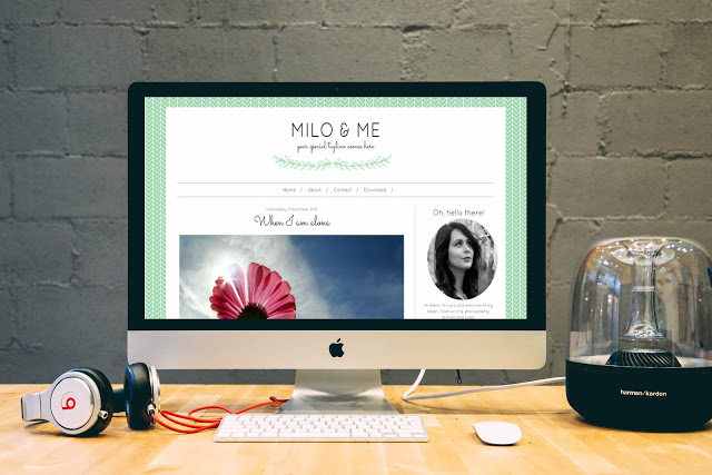 Free feminine blogger templates