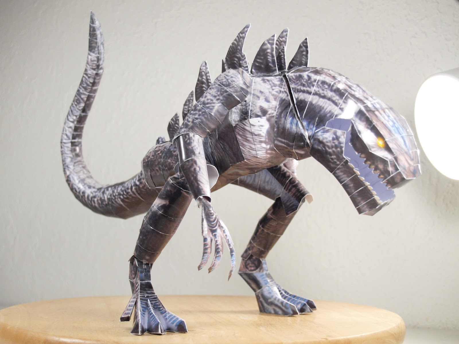 Darkeyedkid's Papermodels and Memos: Godzilla 1998 ...