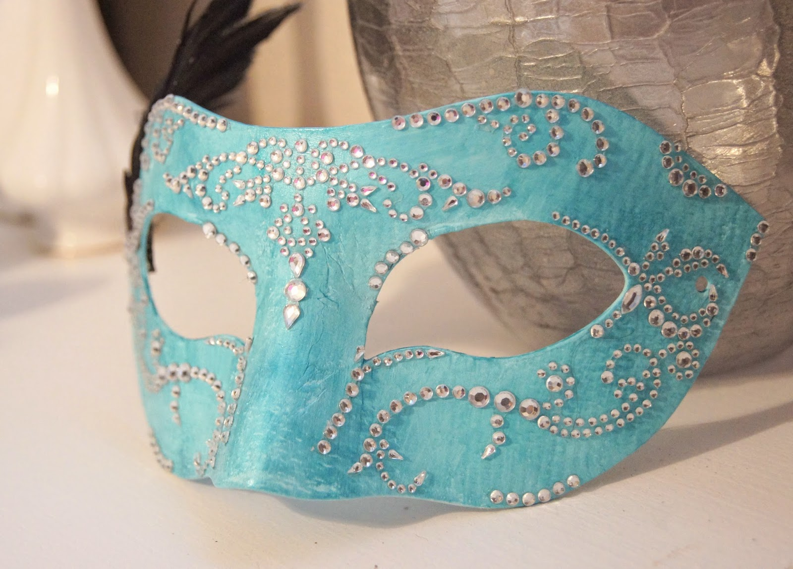 Diy Masquerade Mask The Pearl Magnolia