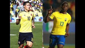 Colombia vs Ecuador en Eliminatorias Sudamericanas