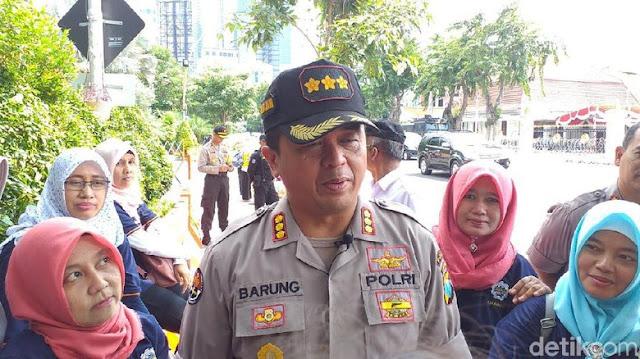 5.500 Polisi Amankan May Day di Surabaya