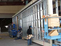 Manufacturing a modular building reduces traffic and pollution