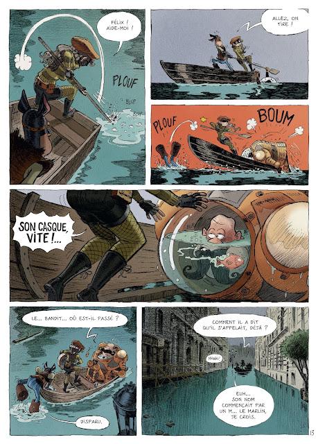 Une aventure des spectaculaires tome 3 éditions Rue de Sèvres Page 19