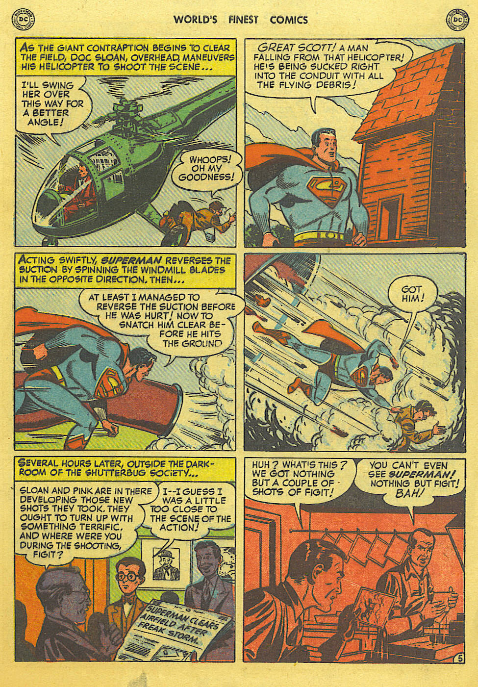 Read online World's Finest Comics comic -  Issue #49 - 7