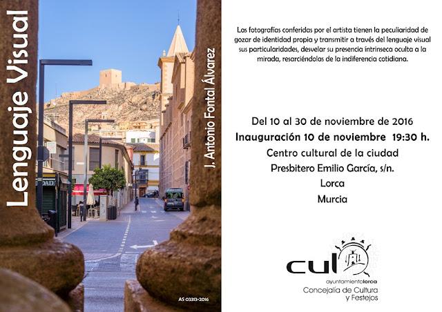 Inauguración exposición de J. Antonio Fontal Álvarez