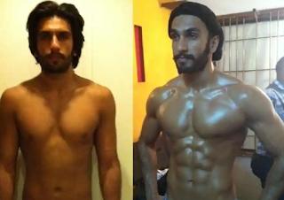 Ranveer Singh DTP (Dramatic Transformation Principle)