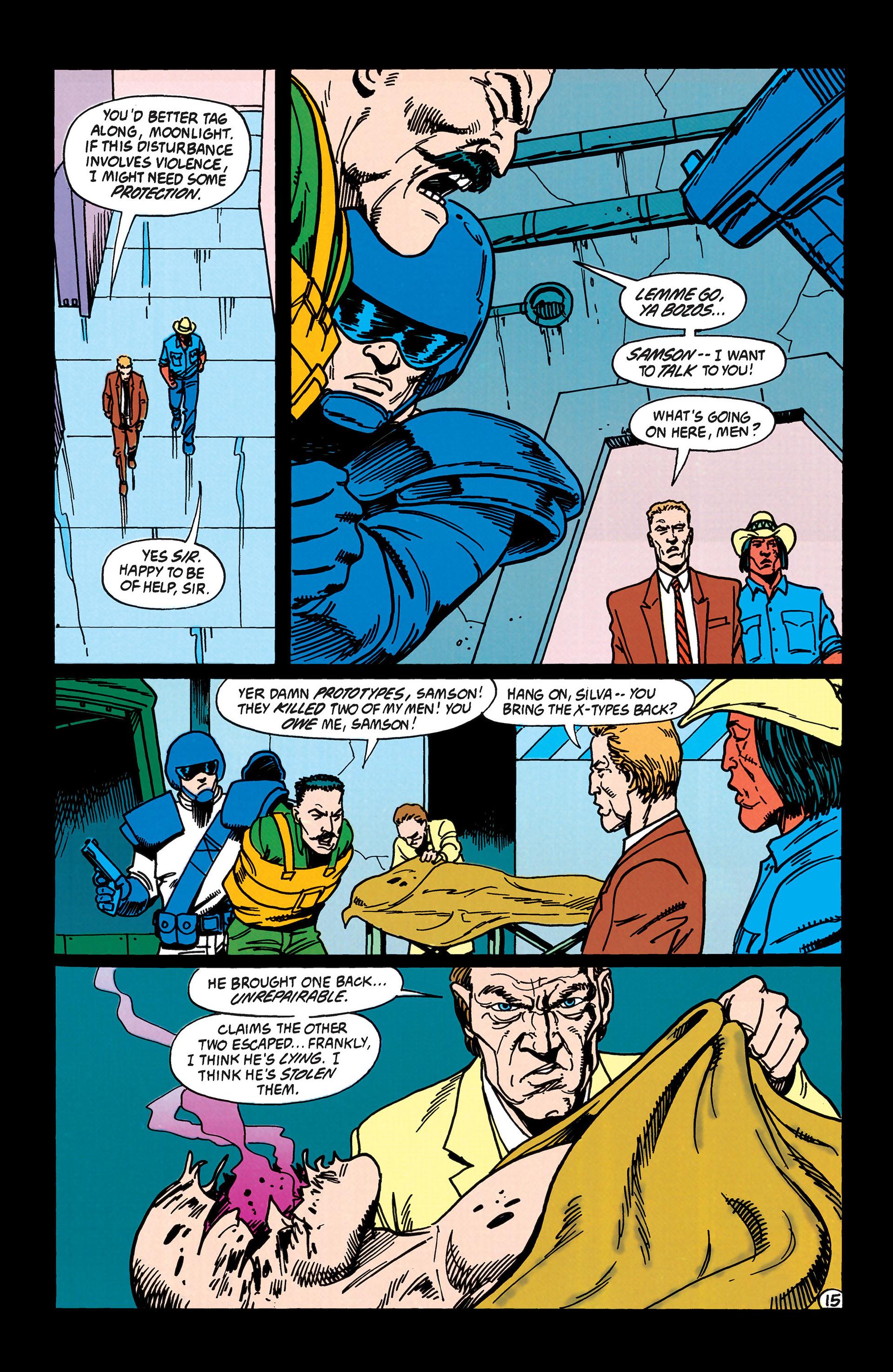 Read online Animal Man (1988) comic -  Issue #43 - 16