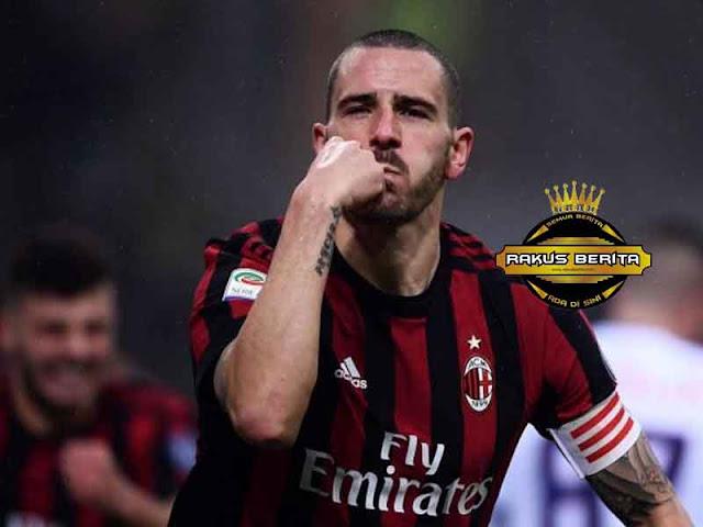 Cetak Gol Perdana Untuk Milan, Bonucci Kegirangan