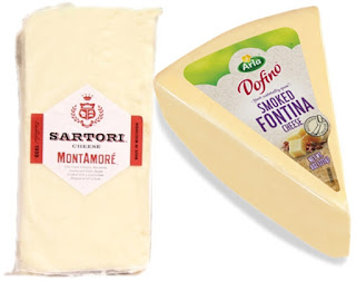 MontAmore & Smoked Fontina Cheeses