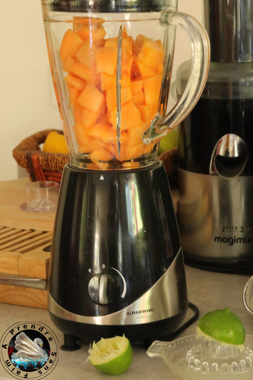 Smoothie melon abricot