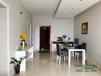 Sapphire 2 SGP cho thuê căn hộ 2 phòng ngủ - view rộng phòng khách