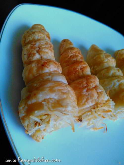 Resep Banana Cheese Puff Pastry