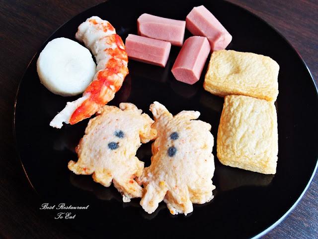 D'Kayangan Steamboat BBQ Buffet Restaurant Shah Alam FishBall