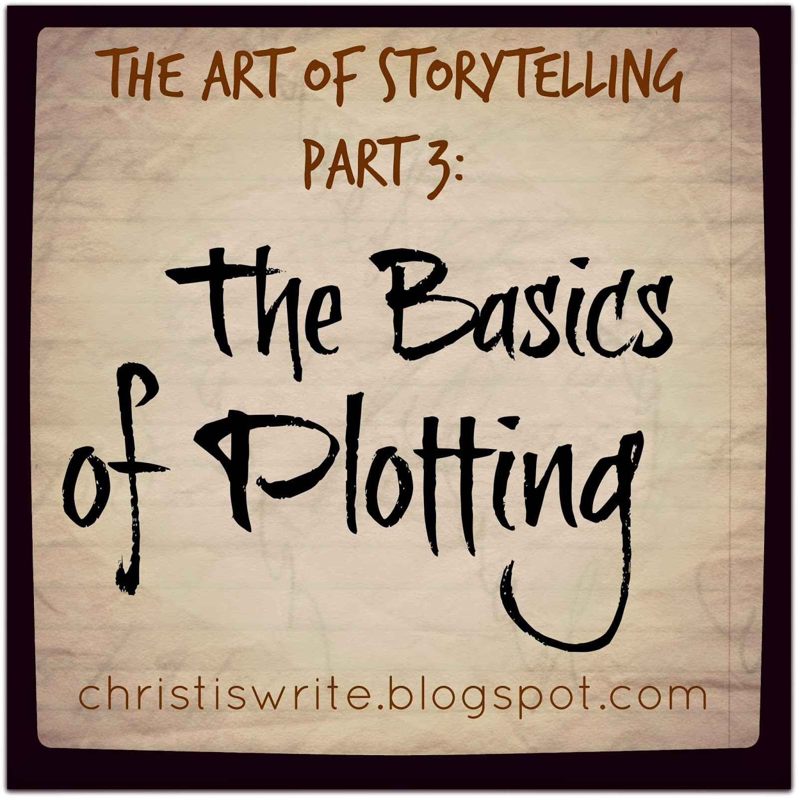 The Art Of Storytelling P.3: The