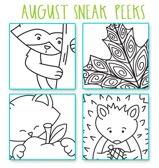 Sneak Peeks for Newton's Nook Designs August Release #newtonsnook