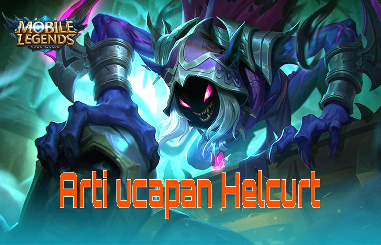 Suara arti perkataan helcurt dalam bahasa indonesia