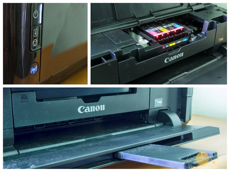 CAMPUR TANGAN: Canon IP7270 Ink pad is full