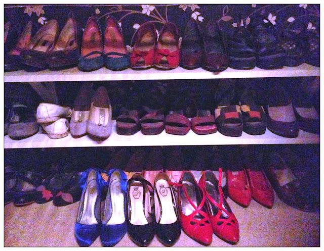VisaLiza Hur många par skor kan någon behöva?