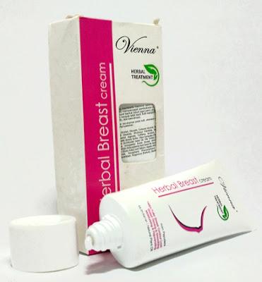 Vienna Breast Cream Pembesar dan Pengencang Payudara Original BPOM