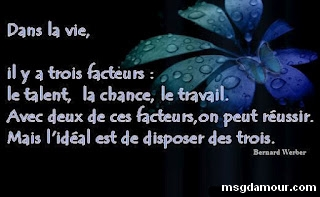 citation vie en image