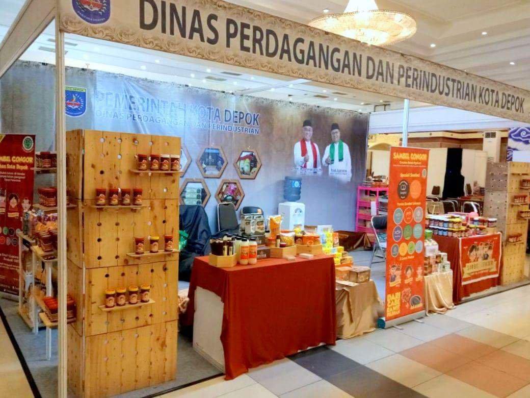 Produk kuliner UKM UMKM IKM Depok Awondis hadir di acara Batik Fashion Craft Bandung Geulis 2017