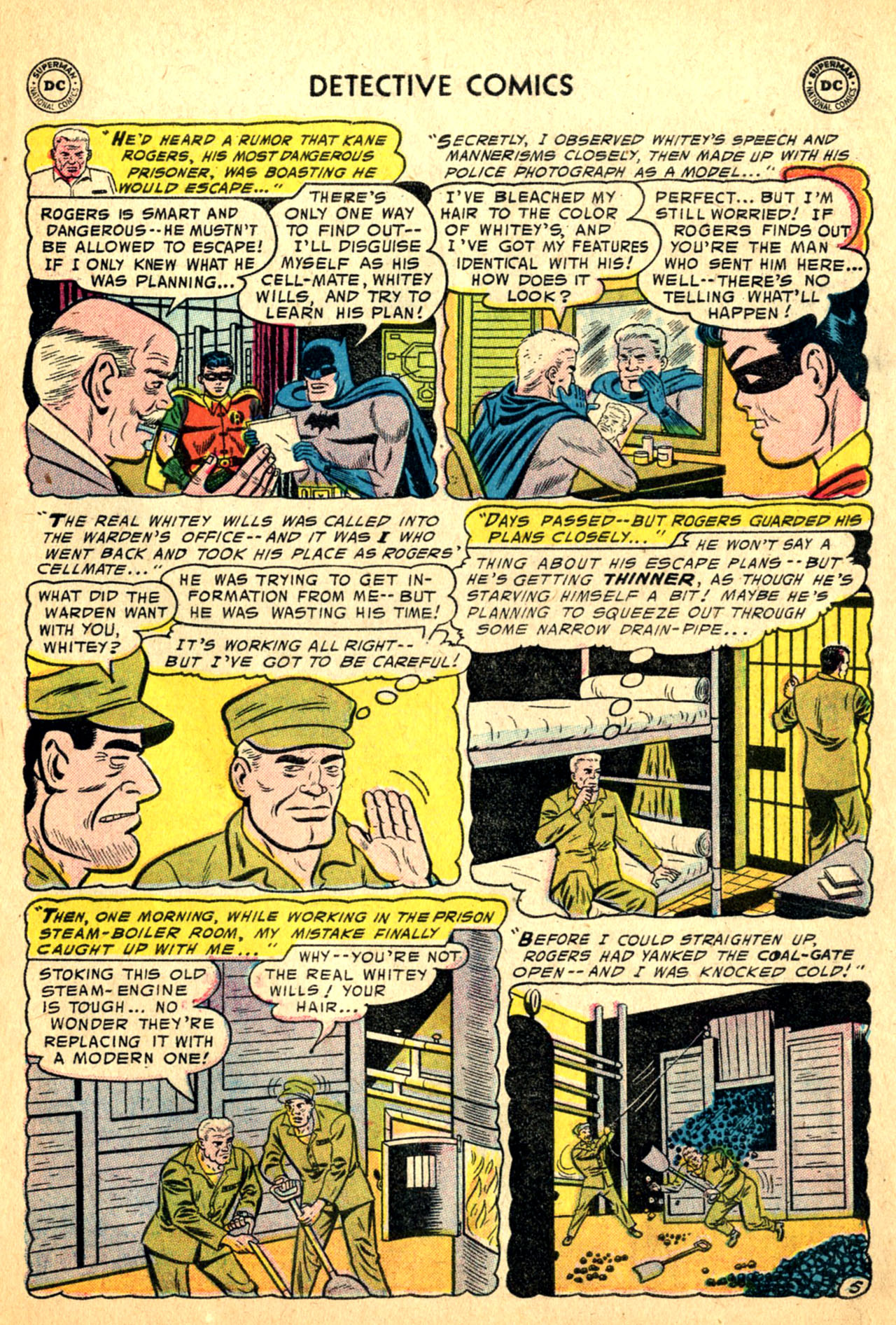 Read online Detective Comics (1937) comic -  Issue #227 - 7