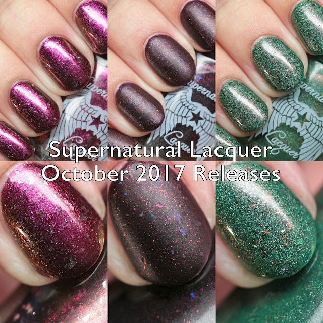 Supernatural Lacquer October 2017 Releases