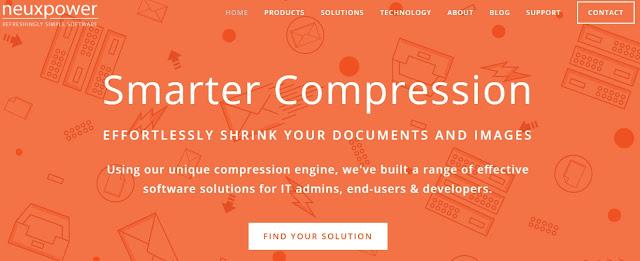 دليلك لضغط حجم الملفات و التوثيقات بمختلف أنواعها عن طريق خدمة NXPower