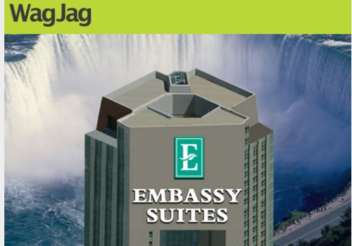 Wagjag Niagara Falls Embassy Suites 63% Off Family Fun and Couples Getaway